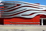 The Petersen Automotive Museum Building Side Detail