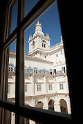 The 17th century Monastery of Sao Vicente de Fora in Lisbon, Portugal