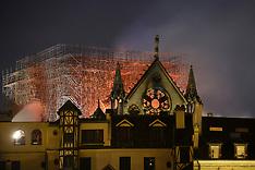 Massive Fire Ravages Notre Dame Cathedral - Paris -15 April 2019
