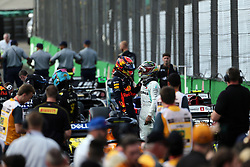 November 17, 2019, Sao Paulo, Brazil: xa9; Photo4 / LaPresse.17/11/2019 Sao Paulo, Brazil.Sport .Grand Prix Formula One Brazil 2019.In the pic: Lewis Hamilton (GBR) Mercedes AMG F1 W10, Alexander Albon (THA) Red Bull Racing RB15 (Credit Image: © Photo4/Lapresse via ZUMA Press)
