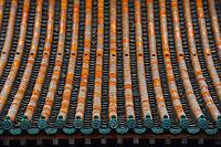 Details from the Yong An Si temple, now a museum, Beiyue Hengshan Mountain, Datong, Hunyuan County, Shanxi Province, China
