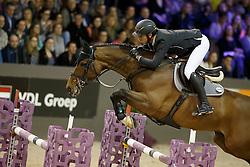 Guerdat Steve, (SUI), Corbinian <br /> Indoor Brabant - 's Hertogenbosch 2016<br /> © Hippo Foto - Dirk Caremans<br /> 12/03/16