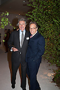 ARNAUD BAMBERGER; LORD MARCH, The Cartier Chelsea Flower show dinner. Hurlingham club, London. 20 May 2013.