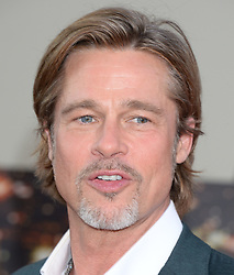 Once Upon a Time in Hollywood Premiere. 22 Jul 2019 Pictured: Brad Pitt. Photo credit: MEGA TheMegaAgency.com +1 888 505 6342