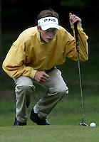 MOLENSCHOT - Gerard van Geelkerken.  Voorjaarswedstrijd golf 2003 op GC Toxandria. . COPYRIGHT KOEN SUYK
