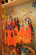 Dress shop, Fare, Huahine, French Polynesia