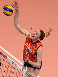 09-01-2016 TUR: European Olympic Qualification Tournament Rusland - Nederland, Ankara<br /> De strijd om Rio of Japan /Quinta Steenbergen #7
