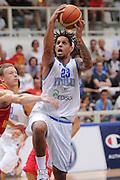 Trento 27 Luglio 2012 - Trentino Basket Cup Italia Montenegro<br /> Nella Foto: Daniel Hackett<br /> Foto Ciamillo