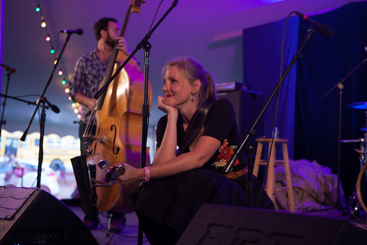 Nora Jane Struthers and the Party Line, a crowd pleaser.