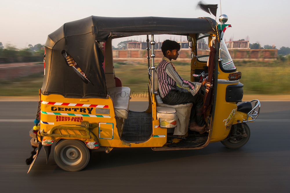 Tuk tuk<br /> Agra<br /> Uttar Pradesh,  India