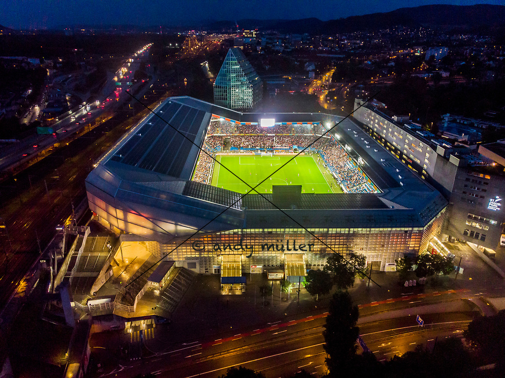 30.07.2019; Basel; Fussball Europa League Quali - FC Basel - PSV Eindhoven; Stadion Uebersicht St.Jakob-Park Joggeli (Andy Mueller/freshfocus)