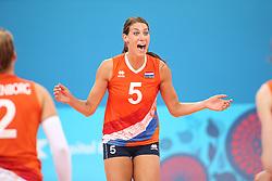 20150619 AZE: 1ste European Games Baku Servie - Nederland, Bakoe<br /> Nederland verslaat Servie met 3-2 / Robin de Kruijf #5