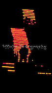 While taking some photos on stage, I took the Shadow People images of the lights on the upper staircases at the Greek Theatre, in Los Angeles, CA.