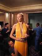 Jodie Kydd. Julian Macdonald. Park Lane Hotel. 25 September 2000. © Copyright Photograph by Dafydd Jones 66 Stockwell Park Rd. London SW9 0DA Tel 020 7733 0108 www.dafjones.com