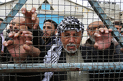 February 6, 2018 - Rafah, Gaza Strip, Palestinian Territory - Palestinians take part in a protest against the US move to freeze funding for the UN agency for Palestinian refugees in the southern Gaza Strip town of Rafah.  (Credit Image: © Ashraf Amra/APA Images via ZUMA Wire)