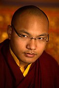 Ogyen Trinley Dorje, His Holiness, The seventeenth reincarnation of The Karmapa Lama at the Vajra Vidya Institute for Buddhist studies in Sarnath, India