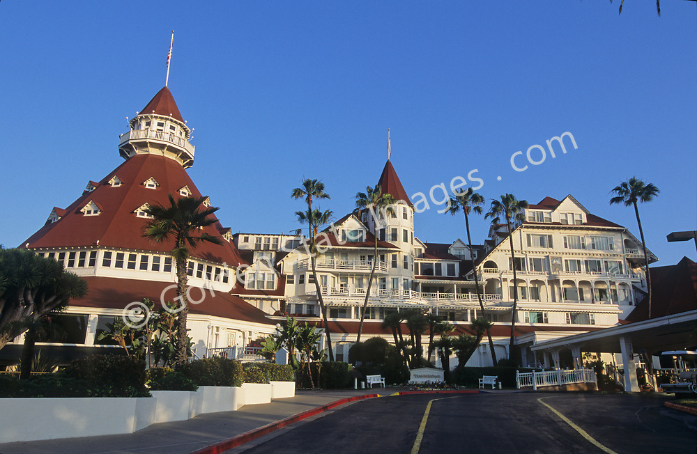 """A national historic landmark, The Hotel Del opened in 1888 and was the first resort in America to use electric lighting. <br /> <br /> The Del has been featured in many movies over the years but the best known was """"Some Like it Hot"""" with Marilyn Monroe, Jack Lemmon and Tony Curtis."""