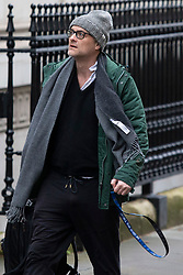 © Licensed to London News Pictures. 02/03/2020. London, UK. Special Advisor to the Prime Minister Dominic Cummings arrives in Downing Street. Photo credit: George Cracknell Wright/LNP