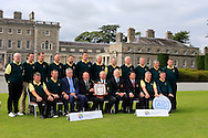 The Thurles team winners of the AIG Pierce Purcell Shield Final at the AIG Cups & Shields National Finals, Carton House, Maynooth, Co Kildare.<br /> Picture Golffile | Fran Caffrey