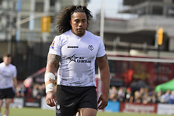 May 20, 2017 - Toronto, Ontario, Canada - FUIFUI MOIMOI (8) in action during the Rugby League game between  game between Toronto Wolfpack and Barrow Raiders (Credit Image: © Angel Marchini via ZUMA Wire)