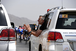 February 14, 2018 - Muscat, Oman - MUSCAT, SULTANATE OF OMAN - FEBRUARY 14 : Jean-Michel Monin ASO during stage 2 of the 9th edition of the 2018 Tour of Oman cycling race, a stage of 167.5 kms between Sultan Qaboos University and Al Bustan on February 14, 2018 in Muscat, Sultanate Of Oman, 14/02/2018 (Credit Image: © Panoramic via ZUMA Press)