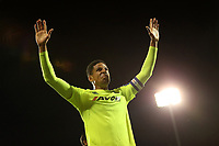 LONDON, ENGLAND - MAY 14:LONDON, ENGLAND - MAY 14:Derby's Curtis Davies, thanks the fans at the end of the game