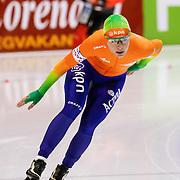 NLD/Heerenveen/20130112 - ISU Europees Kampioenschap Allround schaatsen 2013 dag 2, 3000 meter dames, Diana Valkenburg