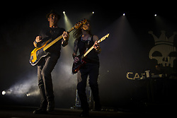 June 16, 2018 - SãO Paulo, Brazil - SÃO PAULO, SP - 16.06.2018: SHOW CAPITAL INICIAL EM SP - The band Capital Inicial shows in São Paulo at the launch of their new tour, Sonora. With full house, the show relied on the great hits and new work songs. (Credit Image: © Emerson Santos/Fotoarena via ZUMA Press)