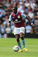 Aly Cissokhu of Aston Villa in action.EFL Skybet championship match, Aston Villa v Rotherham Utd at Villa Park in Birmingham, The Midlands on Saturday 13th August 2016.<br /> pic by Andrew Orchard, Andrew Orchard sports photography.