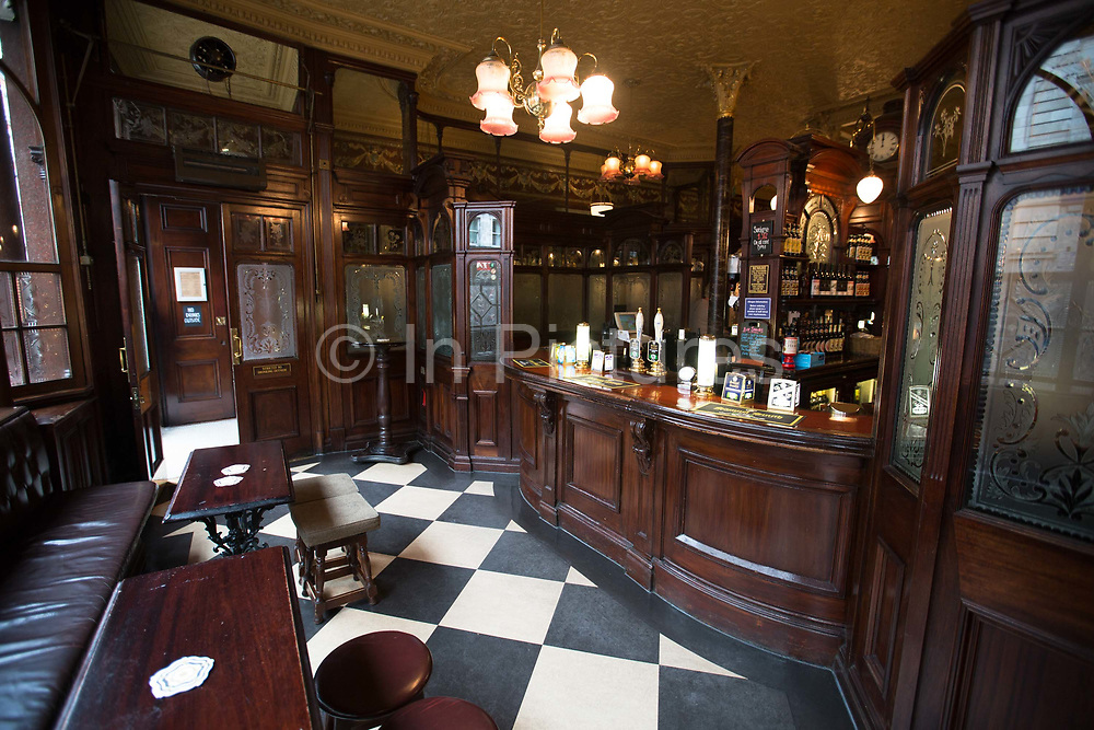 Princess Louise Pub on 4th November 2015 in London, United Kingdom. This old Victorian pub, in Holborn, is a Grade II listed building and was established in 1872