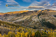 Crystal River Valley in autumn near Marble, Colorado, USA