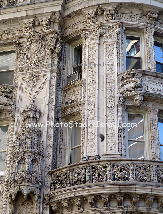 Old Style Architecture in Midtown New York City, NY, USA