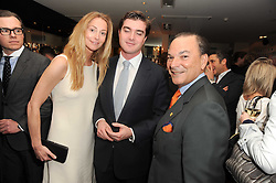 A party to promote the exclusive Puntacana Resort & Club - the Caribbean's Premier Golf & Beach Resort Destination, was held at The Groucho Club, 45 Dean Street London on 12th May 2010.<br /> <br /> Picture Shows:- Left to right, LORD & LADY JAMES RUSSELL and FRANK RAINIERI