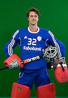 DEN BOSCH -  SAM VAN DER VEN . . Nederlands Hockeyteam  voor nieuwe platform Hockey.nl.    FOTO KOEN SUYK