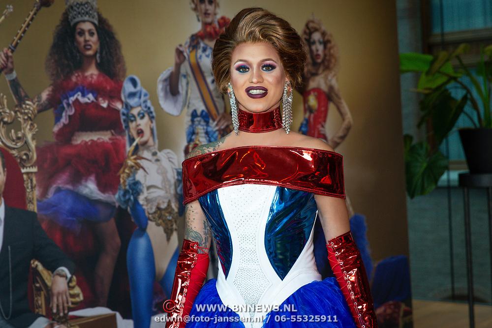 NLD/Amsterdam/20200916 - Fotomoment Drag Race Holland  2020, Megan Schoonbrood