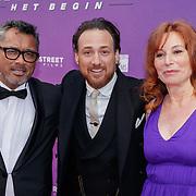 NLD/Amsterdam/20190415 - Filmpremiere première Baantjer het Begin, Martin Schwab, Arne Toonen en Marian Mudder