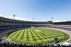 © Licensed to London News Pictures. 26/12/2013. A general view of the MCG during the Ashes Boxing Day Test Match between Australia Vs England at the MCG on 26 December, 2013 in Melbourne, Australia. Photo credit : Asanka Brendon Ratnayake/LNP