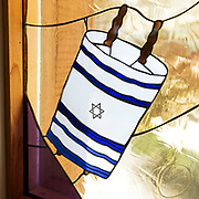 Nancy O'Neal, 1986. Beth Abraham Orthodox Synagogue, Bangor, Maine.