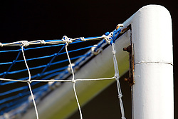 The top of the goal