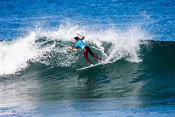 Malia Manuel (HAW) will surf in Round 2 of the 2018 Roxy Pro France after placing second in Heat 5 of Round 1 in Hossegor, France.