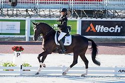 Philippa Johnson Dwyer, (RSA), Verdi - Team Competition Grade IV Para Dressage - Alltech FEI World Equestrian Games™ 2014 - Normandy, France.<br /> © Hippo Foto Team - Jon Stroud <br /> 25/06/14