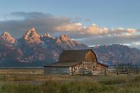 John Moulton Barn on Mormon Row, Grand Teton National Park Wyoming