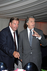 Left to right JOHANN RUPERT and ARNAUD BAMBERGER at the annual Cartier Chelsea Flower Show dinner held at the Chelsea Physic Garden, London on 21st May 2007.<br /><br />NON EXCLUSIVE - WORLD RIGHTS