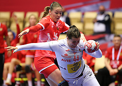 HERNING, DENMARK - DECEMBER 3, 2020: Ainhoa Hernandez during the EHF Euro 2020 Group C match between Russia and Spain in Jyske Bank Boxen, Herning, Denmark on December 3 2020. Photo Credit: Allan Jensen/EVENTMEDIA.