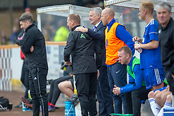 Cove Rangers manager John Shearin. Cove Rangers have become the SPFL's newest side and ended Berwick Rangers' 68-year stay in Scotland's senior leagues by earning a League Two place. Berwick Rangers 0 v 3 Cove Rangers, League Two Play-Off Second Leg played 18/5/2019 at Berwick Rangers Stadium Shielfield Park.