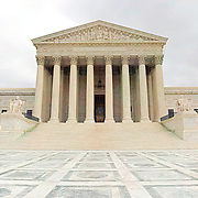 High resolution image of the US Supreme Court building, Washington DC