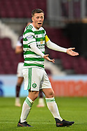 Callum McGregor (#42) of Celtic FC during the Cinch SPFL Premiership match between Heart of Midlothian FC and Celtic FC at Tynecastle Park, Edinburgh, Scotland on 31 July 2021.