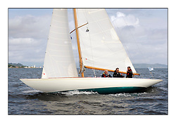 The final day of racing of the Fife Regatta on the King's Course North of Great Cumbrae<br /> <br /> Fintra, Niklaus Waser, GBR, Bermudan Sloop 6mR, Wm Fife 3rd, 1928<br /> <br /> * The William Fife designed Yachts return to the birthplace of these historic yachts, the Scotland's pre-eminent yacht designer and builder for the 4th Fife Regatta on the Clyde 28th June–5th July 2013<br /> <br /> More information is available on the website: www.fiferegatta.com
