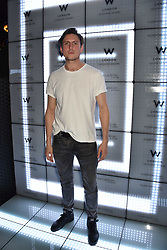 Morgan Watkins at the official launch of The Perception at W London, 10 Wardour Street, London England. 7 November 2017.<br /> Photo by Dominic O'Neill/SilverHub 0203 174 1069 sales@silverhubmedia.com