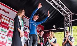 12.07.2019, Kitzbühel, AUT, Ö-Tour, Österreich Radrundfahrt, 6. Etappe, von Kitzbühel nach Kitzbüheler Horn (116,7 km), im Bild Etappensieger Aleksandr Vlasov (Gazprom Rusvelo, RUS) // during 6th stage from Kitzbühel to Kitzbüheler Horn (116,7 km) of the 2019 Tour of Austria. Kitzbühel, Austria on 2019/07/12. EXPA Pictures © 2019, PhotoCredit: EXPA/ JFK